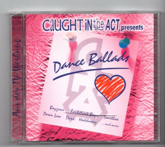 (JF388) Dance Ballads, 36 tracks various artists - 1999 double CD