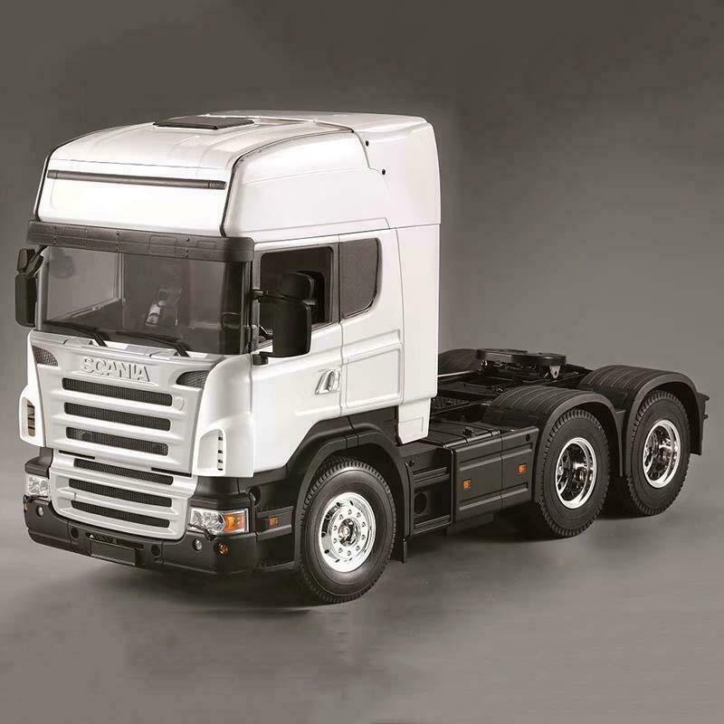 1 14 RC Cabina Camión Scania ejes de Hercules 802C coche kits de montaje de cuerpo de Shell