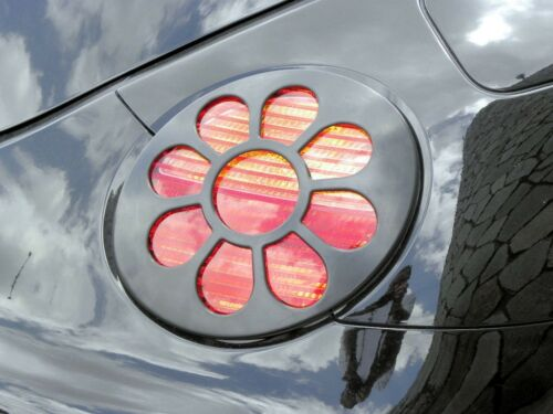 x2 VMS RACING FLOWER TAIL LIGHT COVERS FOR 98-05 VOLKSWAGEN BEETLE