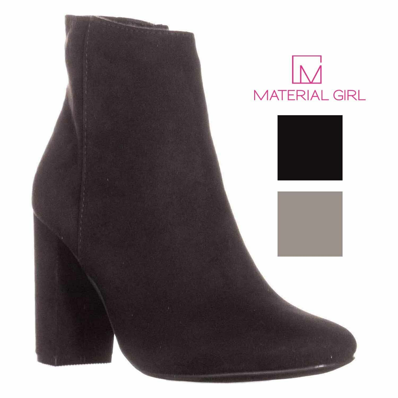 calidad oficial Material Girl Mujer cambrie Bloque Talón al al al tobillo Botines  precio razonable
