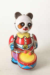 Tin-Toy-Panda-With-Drum-to-The-Mounting-3-7-8in-124033