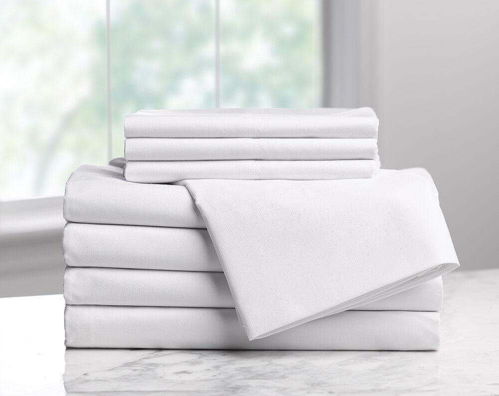 Draw Sheets Flat Sheet-Weiß Pkg 3 Dozen-T-180