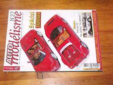 $$$ Revue Auto modelisme N°27 Special FerrariFerrari F1BBR330 P3/P4