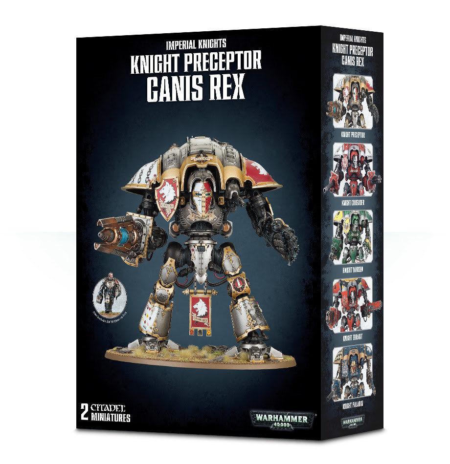 Warhammer Warhammer Warhammer 40K Knight Preceptor Canis Rex 54-15 327376