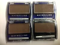 ( Lot Of 4 ) Maybelline Ultra Brow Brush-on Color ( Dark Brown ) Uncarded.