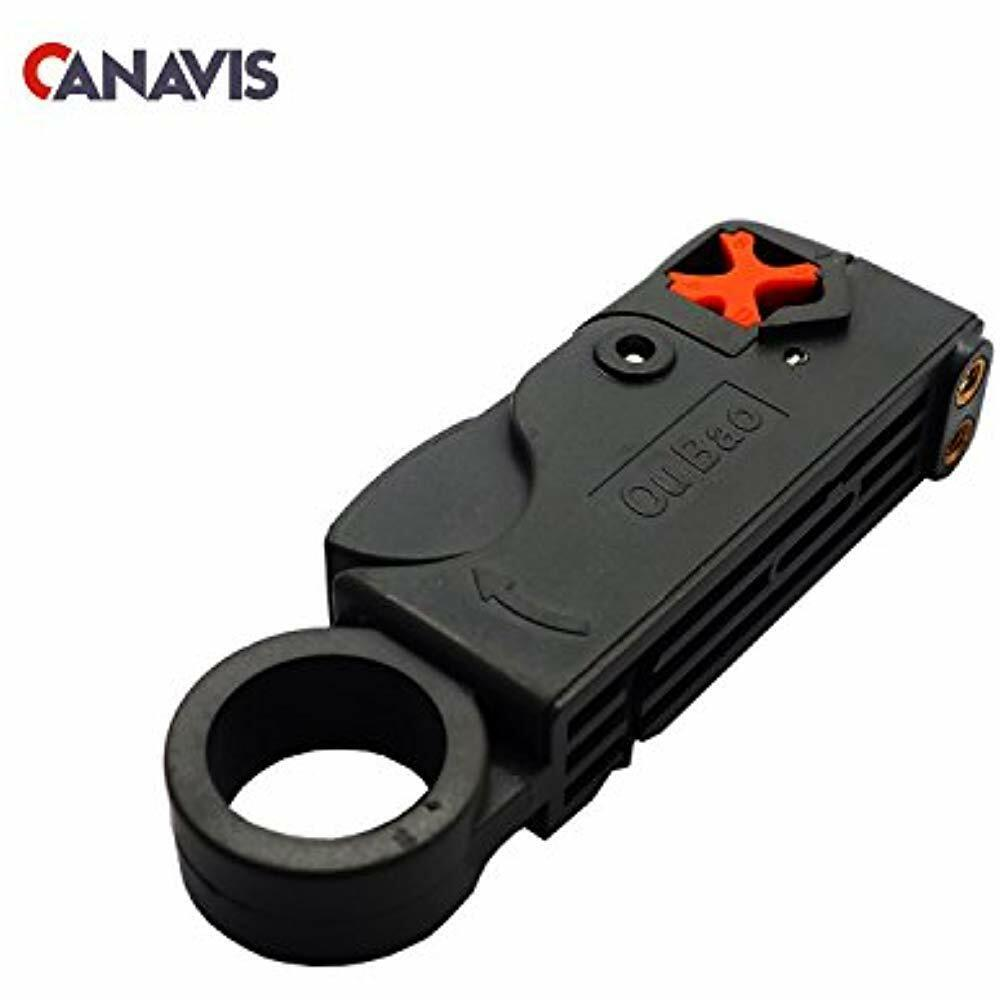 RCA Coaxial Cable Stripper For RG6, RG59/62 And RG58 Wire Ho