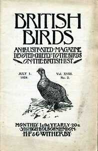Witherby-H-F-editor-BRITISH-BIRDS-AN-ILLUSTRATED-MAGAZINE-DEVOTED-CHIEFLY-TO