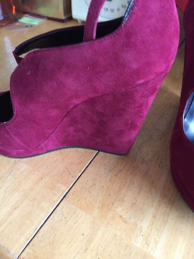 New SAKS FIFTH AVENUE 903 Beatrice WOMANS schuhe Größe 8,Cabernet,Look,READ 8,Cabernet,Look,READ 8,Cabernet,Look,READ Nice. f461dd