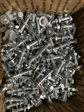 Grade 5 Hex Head Boltsnutswashers Coarse Thread Assortment 100 Sets 400 Pieces