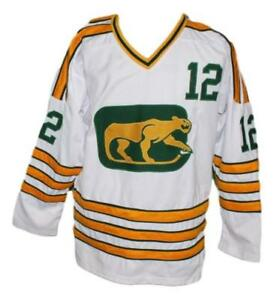 Any-Name-Number-Size-Chicago-Cougars-Retro-Custom-Hockey-Jersey-White-Stapleton