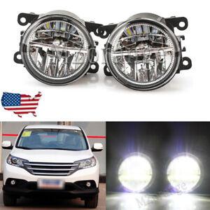 For Acura Tsx Rdx Tl ILX For Honda CR-V Pilot 2011 12-2015 Front Fog Lights Pair
