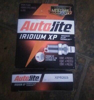 Pack of 4 Autolite XP3923 Iridium XP Spark Plug