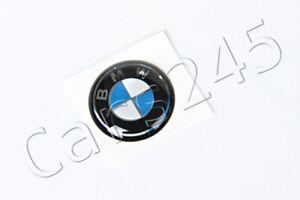 Original-BMW-E46-Cabrio-Compact-Coupe-Schluessel-Emblem-11mm-OEM-66122155753