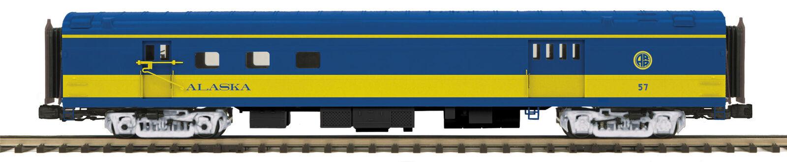 MTH 1 48 O Scale 70' Streamlined RPO Passenger Car Alaska  57  20-68256