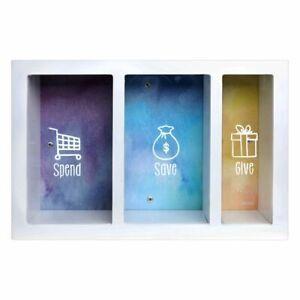 Splosh Change Box Spend Save Give Money Box