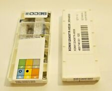 SECO XOMX 120440TR-ME08 MP2500 10 PCS CARBIDE INSERTS FREE SHIPPING