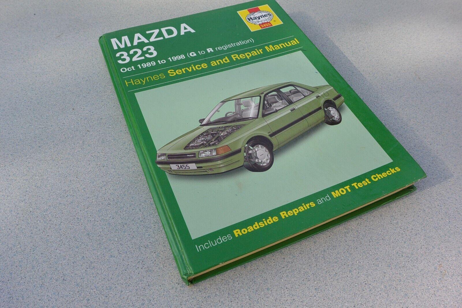 1.5 1.6 1.8 Haynes assistenza e riparazione manuale #3455 SIGILLATO GRATIS P/&P MAZDA 323 1.3