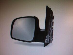 VW-CADDY-2004-2015-Manual-Wing-Door-Mirror-LEFT-side-Left-Hand-Drive-NEW