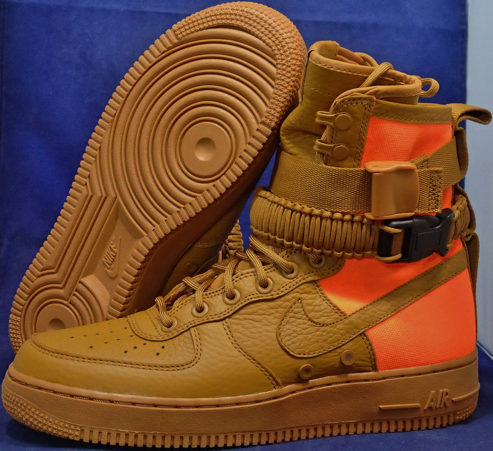 Nike SF Air Obliger 1 QS Desert Ochre Brown Orange AF1 SZ 11.5 ( 903270-778 )