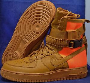 11 Air Ocre Désert Marron 1 Sf 903270 778 Orange Qs Sz Force Nike Af1 PYx5nBn