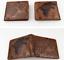 Game of Thrones Stark Short Wallet Zipper Coins Holder Bifold Brown Black Purse