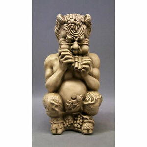Lovely Image Is Loading Chubby Greek Pan Gnome Outdoor Garden Statue Sculpture
