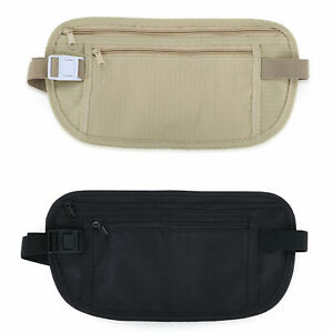 Hidden-Security-Travel-Phone-Money-Passport-Card-Waist-Belt-Bag-Pocket-Wallet