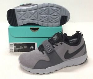 newest collection eace2 b9bd6 Image is loading NIKE-SB-TRAINERENDOR-L-806309-001-COOL-GREY-