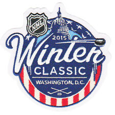 2015 NHL WINTER CLASSIC JERSEY PATCH CHICAGO BLACKHAWKS Vs WASHINGTON CAPITALS