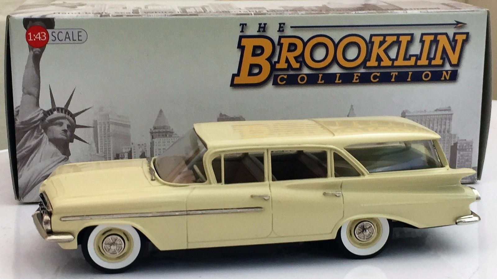 Brooklin BRK 145a 1959 Chevrolet Brookwood 4-Door Station Wagon -Made in England