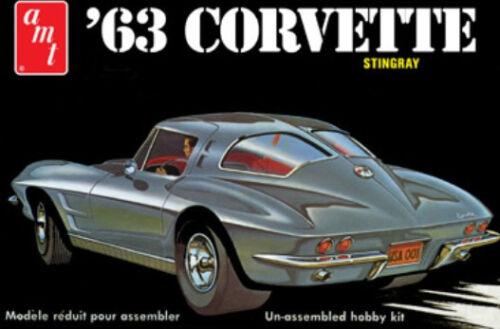 AMT 1//25 Chevy Corvette 1963 AMT861