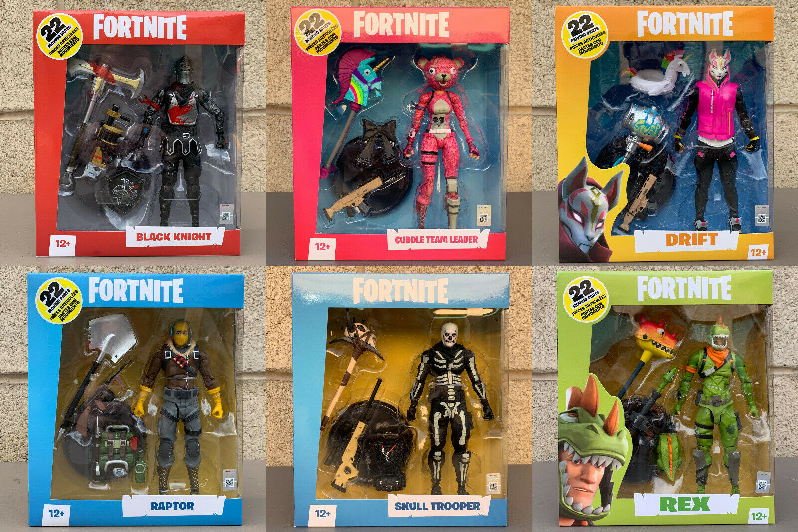 McFarlane Toys  Fortnite 6 Inch Action Figures Wave 1
