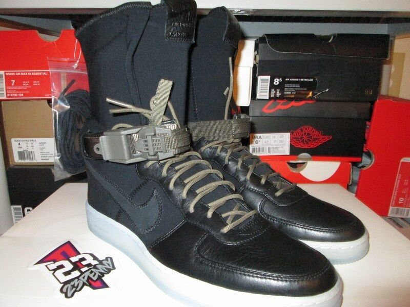 NEW NIKE Acronym Air Force 1 Downtown HIGH HI SP Black SIZE 9.5 649941 003 NYFW