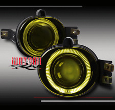 02-09 DODGE RAM 1500/03+ 2500 3500 BUMPER DRIVING PROJECTOR FOG LIGHT KIT YELLOW