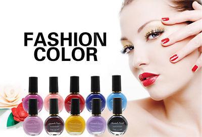 10ml 26 Colorful Nail Polish Nail Art Gel Polish Dry fast Fashion Home DIY