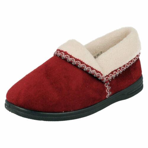 Sandpiper ILA Damen Slipper Textil Hausschuhe