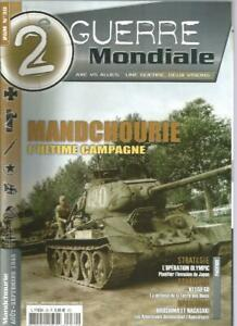 2e-GUERRE-MONDIALE-N-30-MANDCHOURIE-L-039-ULTIME-CAMPAGNE-OPERATION-OLYMPIC