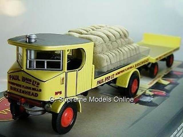 SENTINAL STEAM LORRY & TRAILER PAUL BROS 1/50 SCALE HOMEPRIDE ISSUE K8967Q~#~