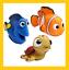 Original-Cute-Disney-Baby-Bath-Squirt-Toys-Finding-Nemo-fun-toy-for-kids thumbnail 1