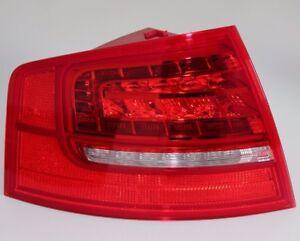 Audi A8 4E D3 LED Rückleuchte Heckleuchte Facelift Leuchte S8 Lampe links außen