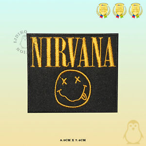 Music-Band-Embroidered-Iron-On-Sew-On-Patch-Badge-FOr-Clothes-Etc