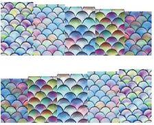 Full Wrap Water Transfers Nail Stickers Decals Ocean Mermaid Nails (DB161)