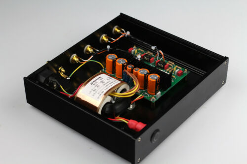 Finished RIAA MM Phono Turntable Preamplifier base on DUAL MM LP amp   L3-62