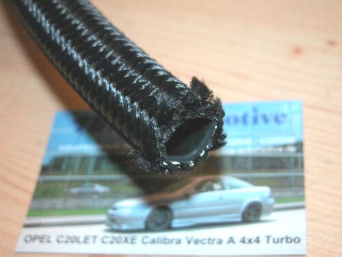 1m AN 10 Schlauch schwarz *NEU* Dash10 Nylon Stahl Ölschlauch Universal AN-10