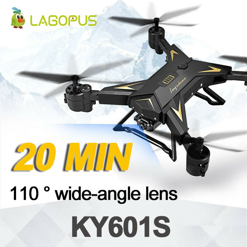 Foldable RC 1080P Wide Angle WIFI FPV Drones With Camera HD Mini Helicopter