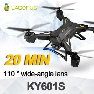 Rc Drone Quadcopter Wifi Fpv Télécommande Jouet 4ch Avec 1080p Caméra