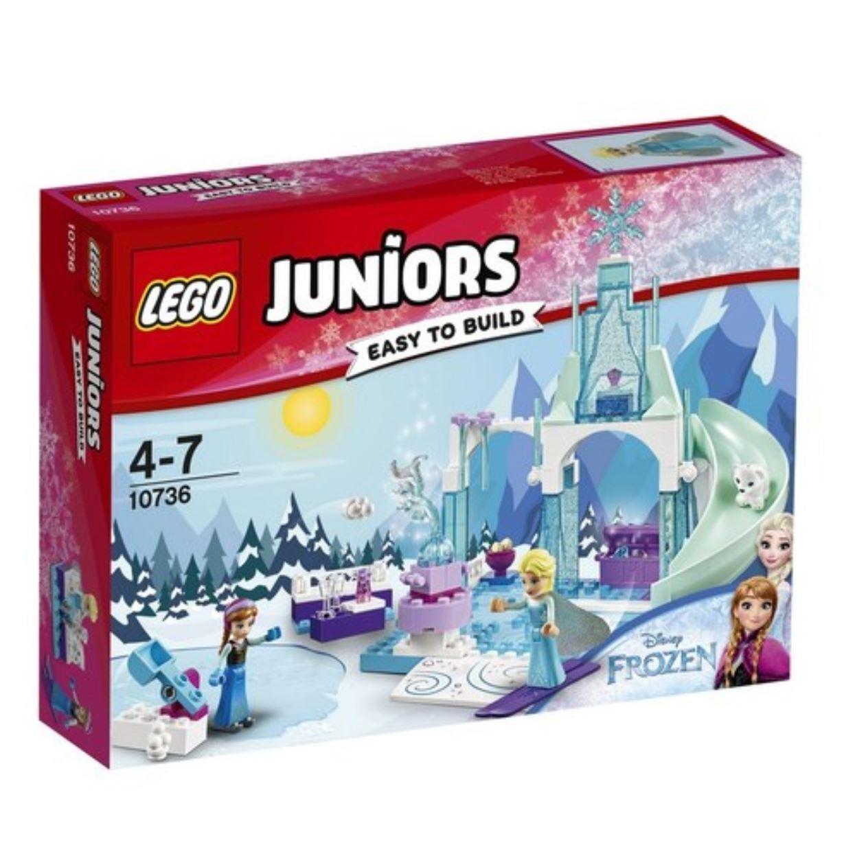 [LEGO]  JUNIORS Anna & Elsa's Frozen Playground 10736 2017 Version Free Shipping