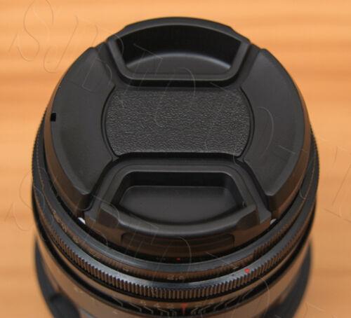 49MM centro-Pinch Clip-on tapa frontal del objetivo sólo para Helios 44-2 Lentes 58mm f2 Zenit