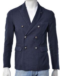 bottoni giacca uomo blu