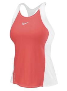 Nike 706288 Womens Triathlon Tri Top Shirt Tank White Coral - Size XS or M - $82